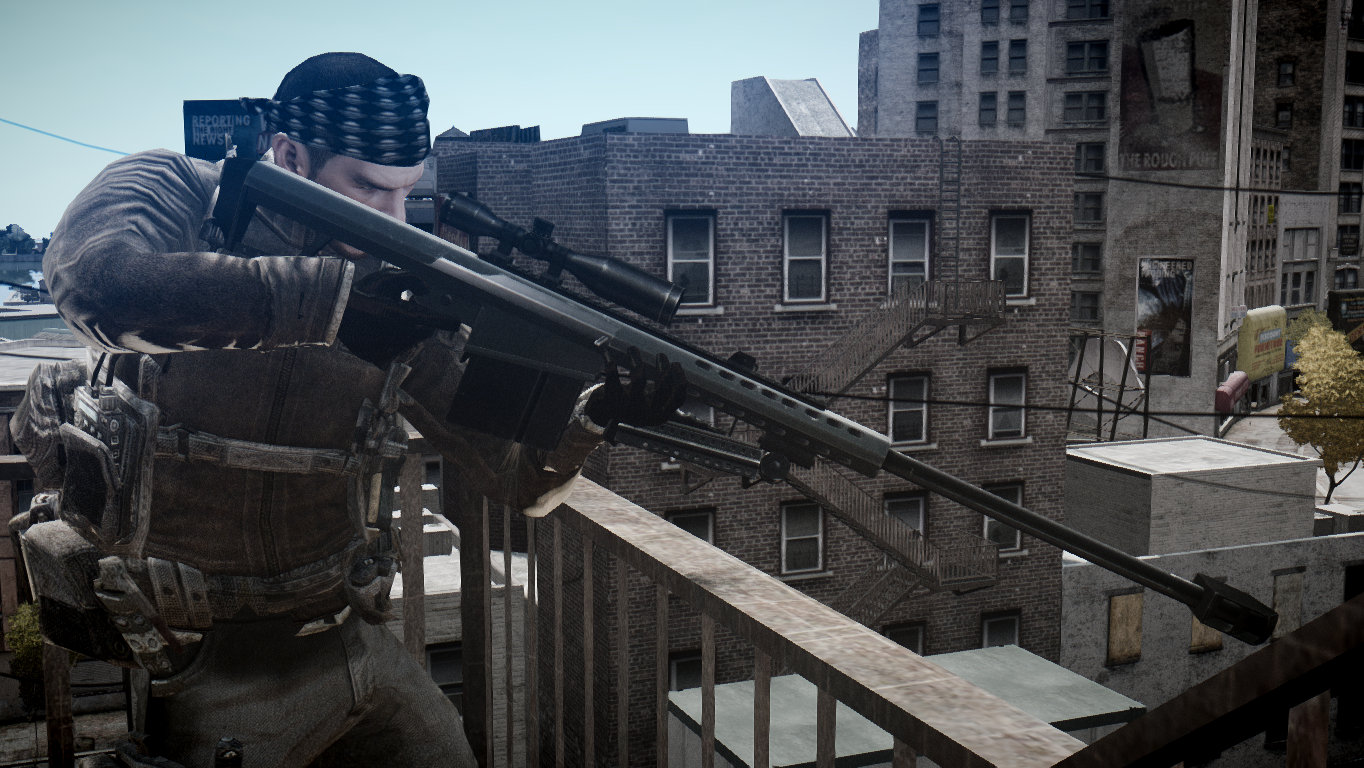 Barrett M82 - GTA4