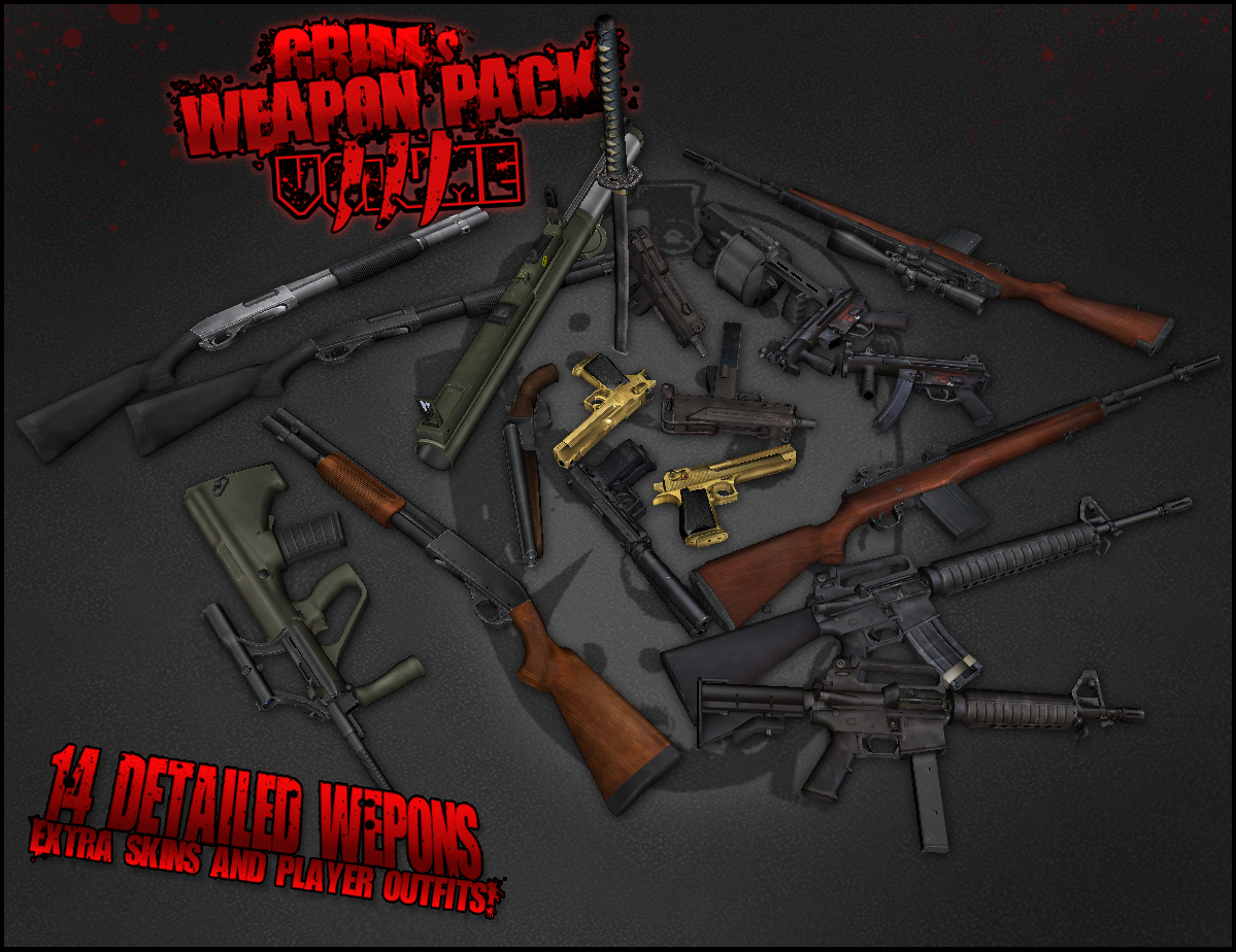 GRIM's Weapon Packs in GTA IV - GTA4