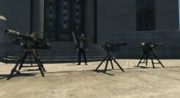 COD Sentry Guns Mod - GTA4