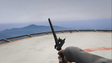 Sword Art Online Kirito Elucidator Sword - GTA5