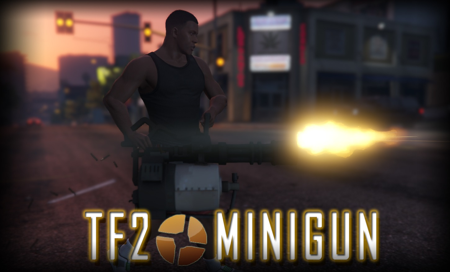 [TF2] Heavy Minigun - GTA5
