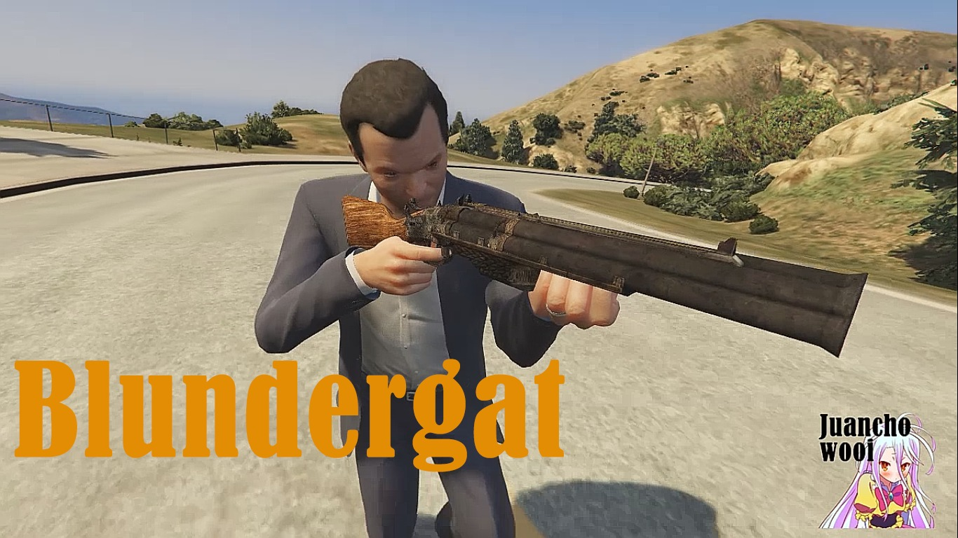 BO2 Mob of the Dead Blundergat - GTA5