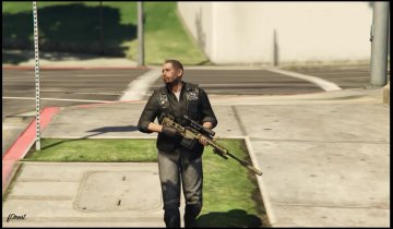 MSR Sniper Rifle - GTA5