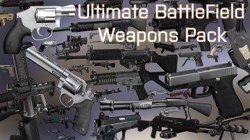 Ultimate BattleField Weapons Pack