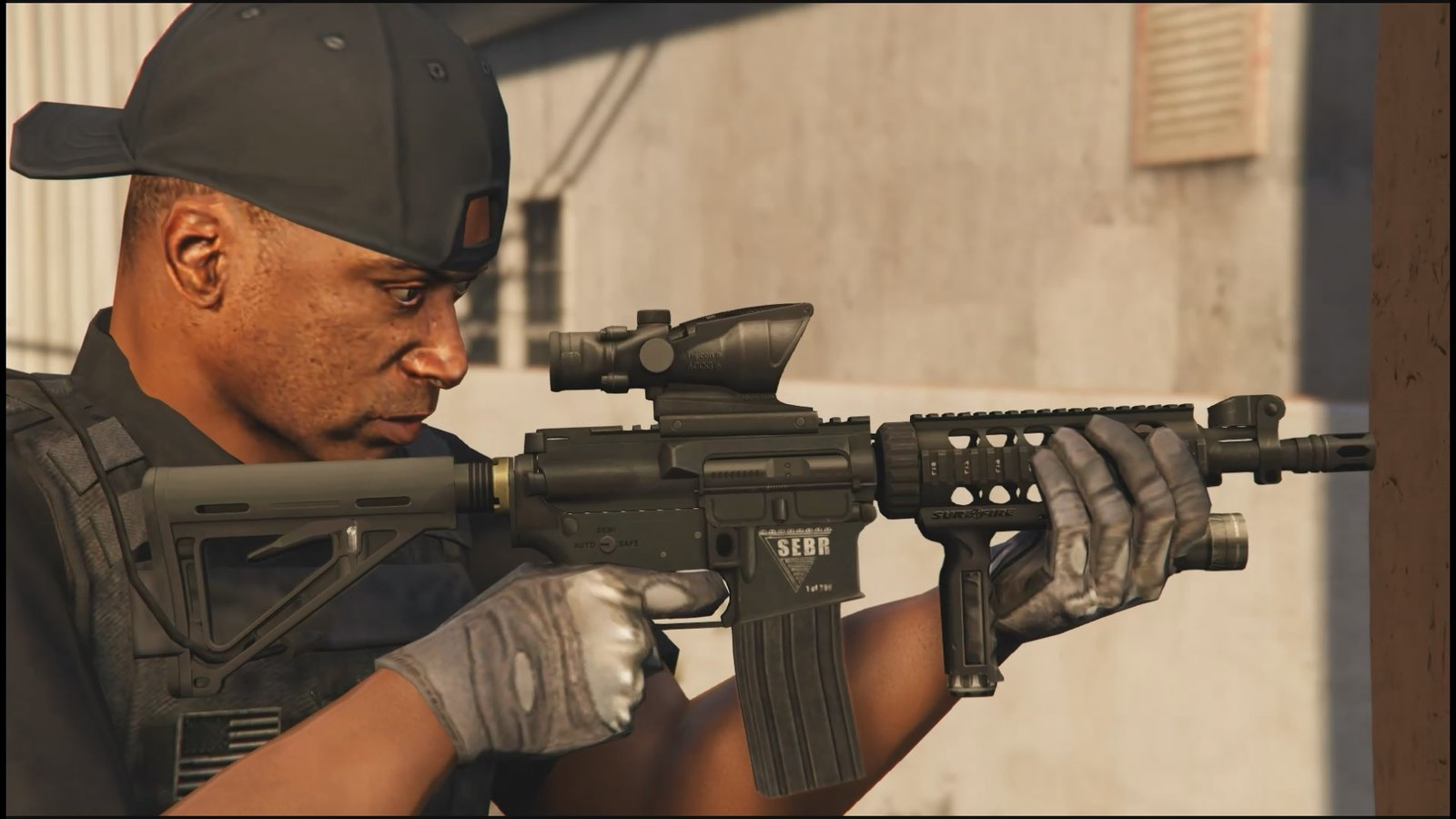 Tactical M4A1 CQB - GTA5