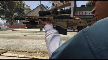 Remington MSR (1/2 Animated) - GTA5