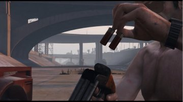 12 Gauge Sawed-Off Double Barrel Shotgun (Animé) - GTA5
