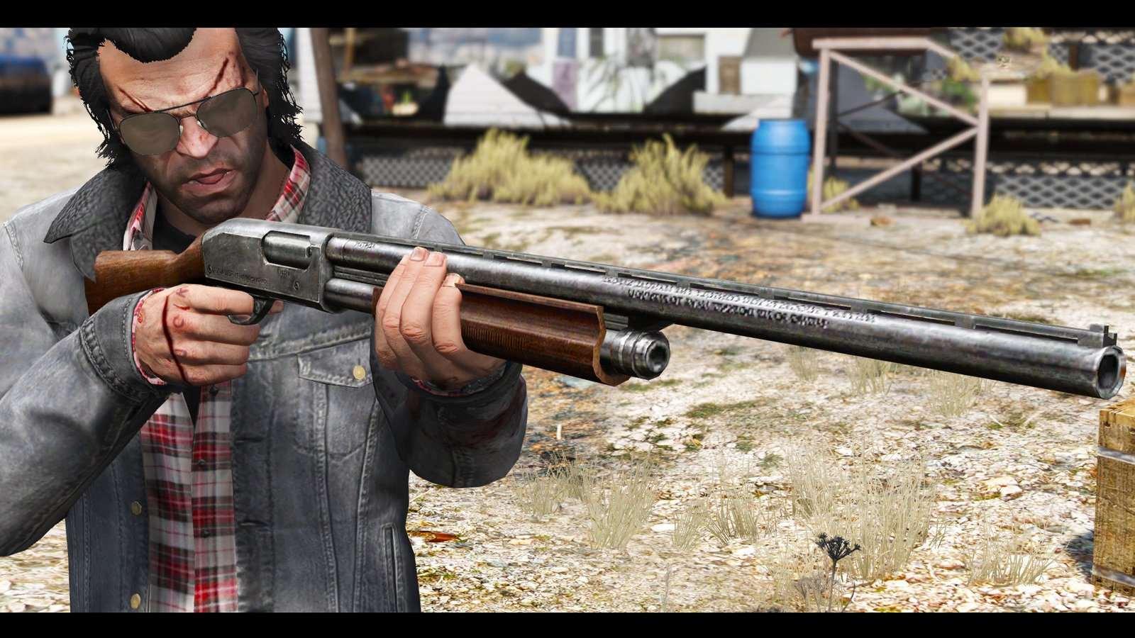 Remington 870e Shotgun [Animé] - GTA5