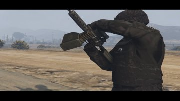 Ares Shrike 5.56 - GTA5