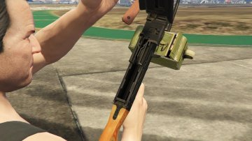 The PKM MachineGun [4K | High] - GTA5