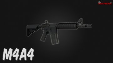 M4A4 from CS:GO [Animated]