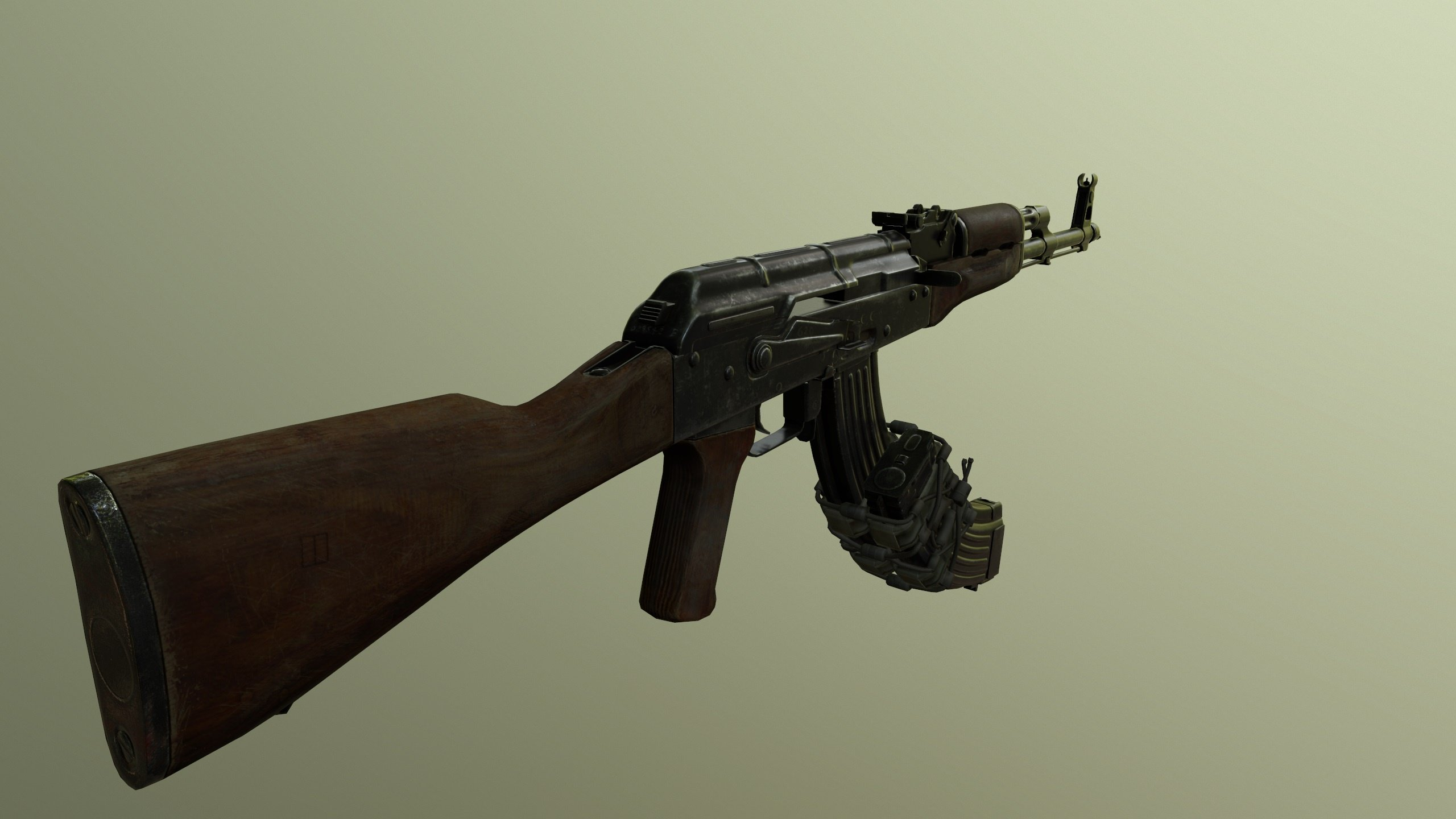 AKM-7 .62 (Assault Rifle) [2K | High poly] - GTA5