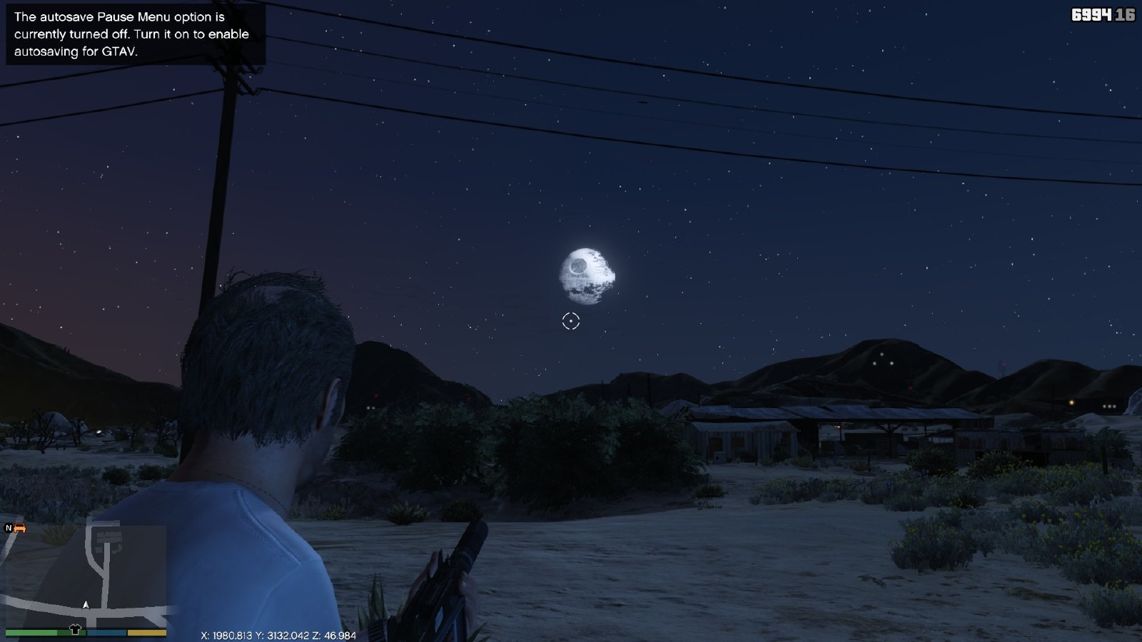 DeathStar Moon - GTA5