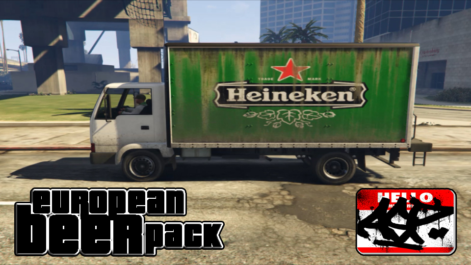 European BEER texture pack - GTA5