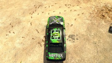 Buffalo Monster Energy Skin - GTA5