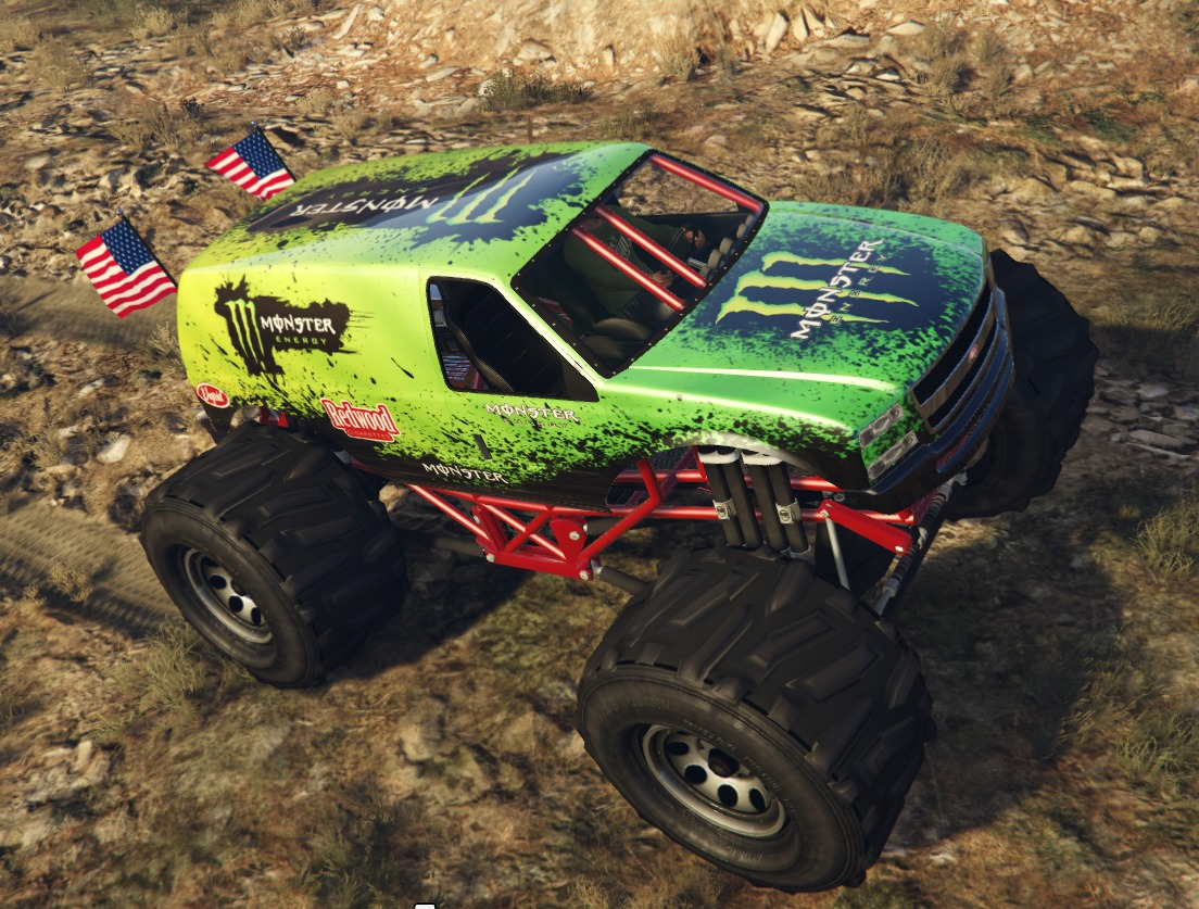 Monster Energy - Monster Truck - GTA5