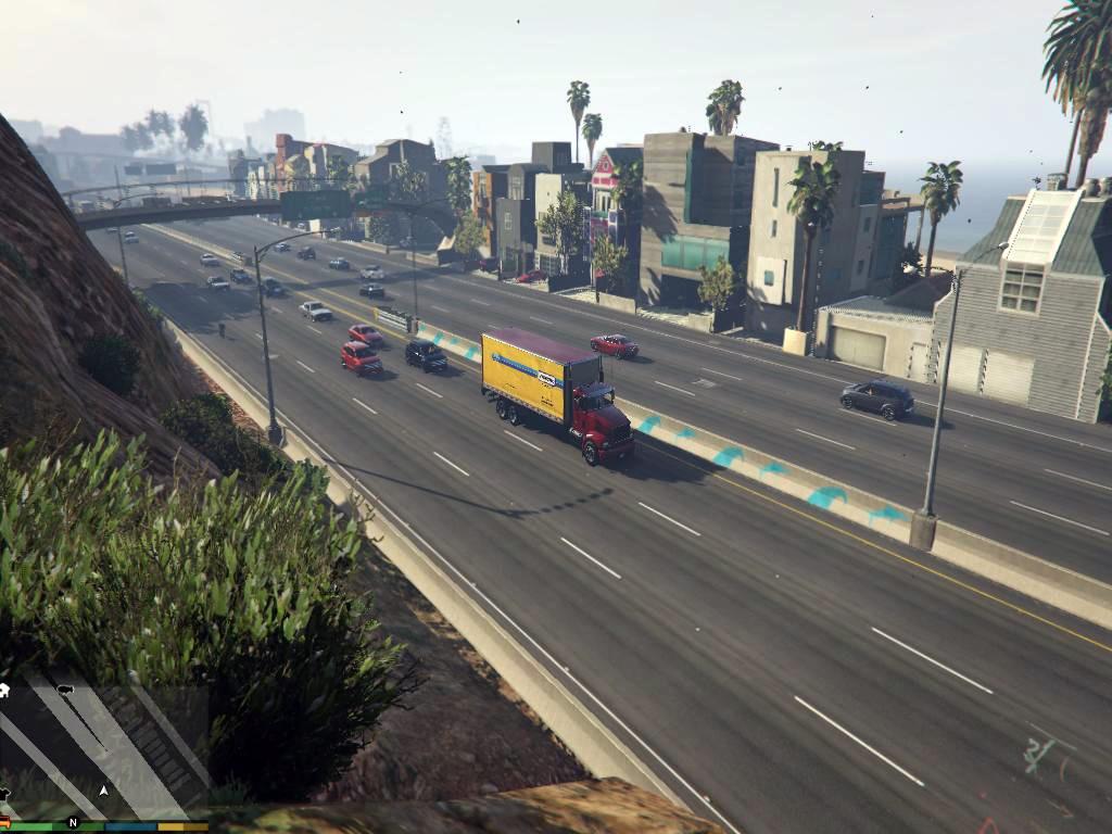 Gta 5 La Roads