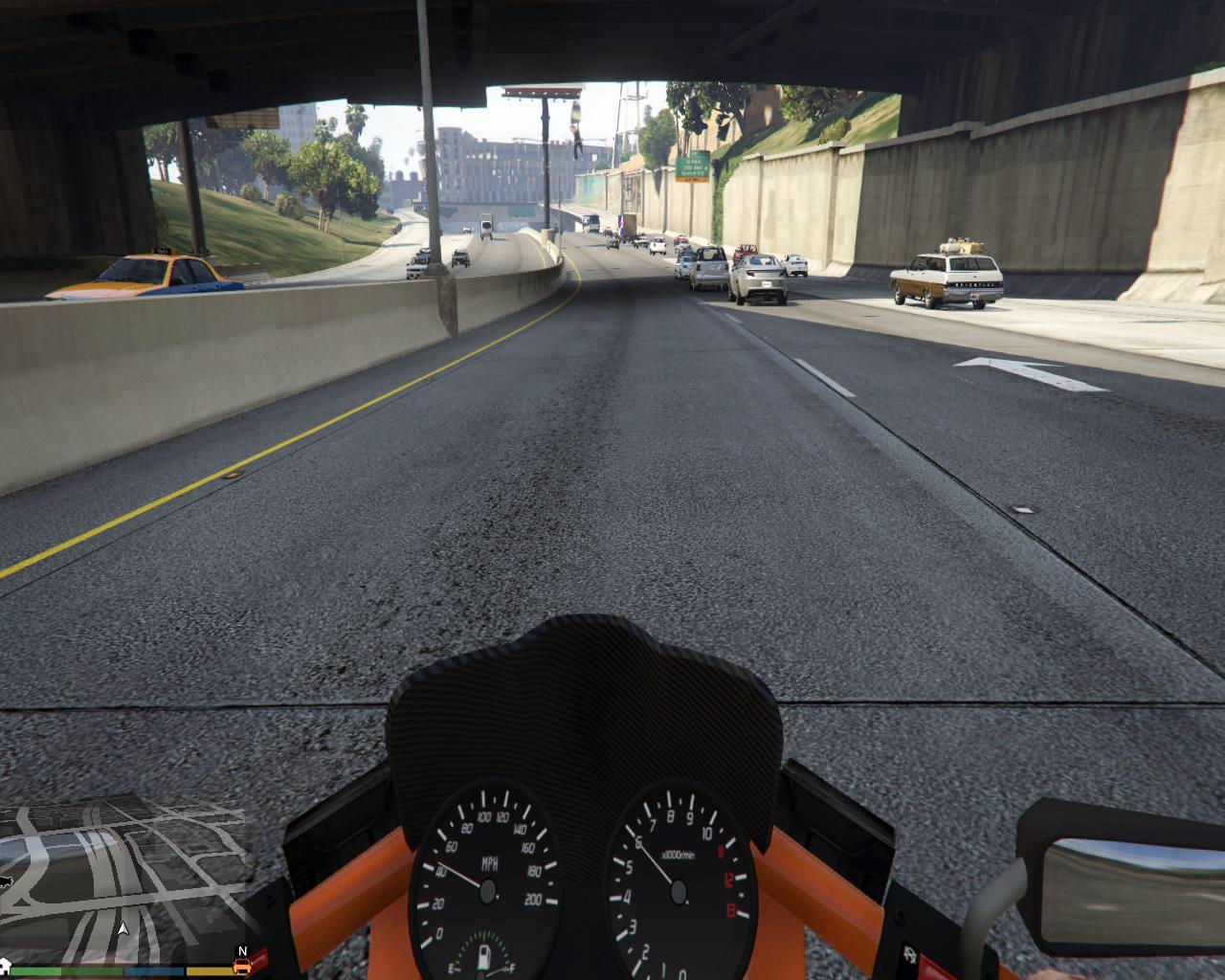 L A  Roads - Divers pour GTA V sur GTA Modding
