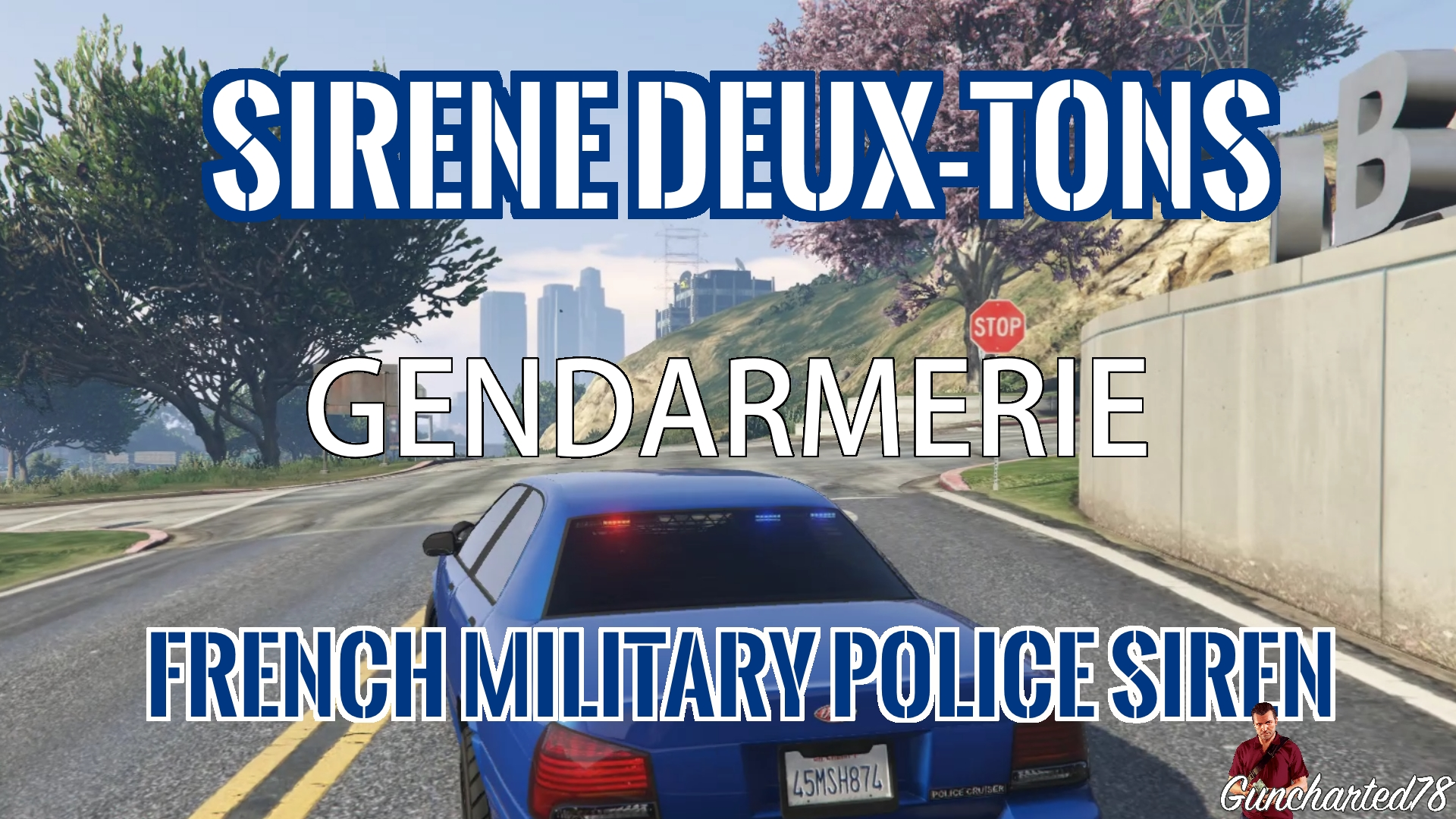 sir ne deux tons gendarmerie divers pour gta v sur gta modding. Black Bedroom Furniture Sets. Home Design Ideas