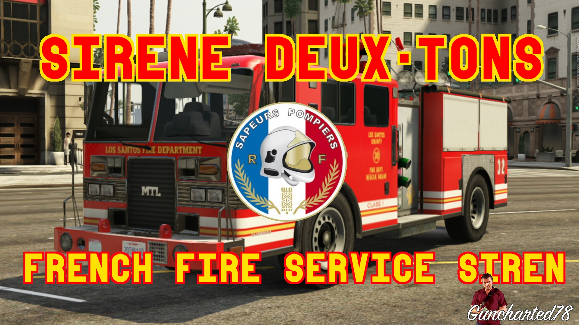 sir ne deux tons pompiers divers pour gta v sur gta modding. Black Bedroom Furniture Sets. Home Design Ideas