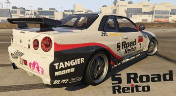 S Road Reito Nissan Skyline GT-R
