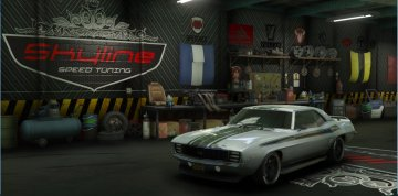 Skyline Speed Tuning Garage