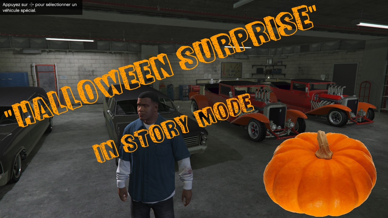 Sauvegarde Halloween Update - GTA5