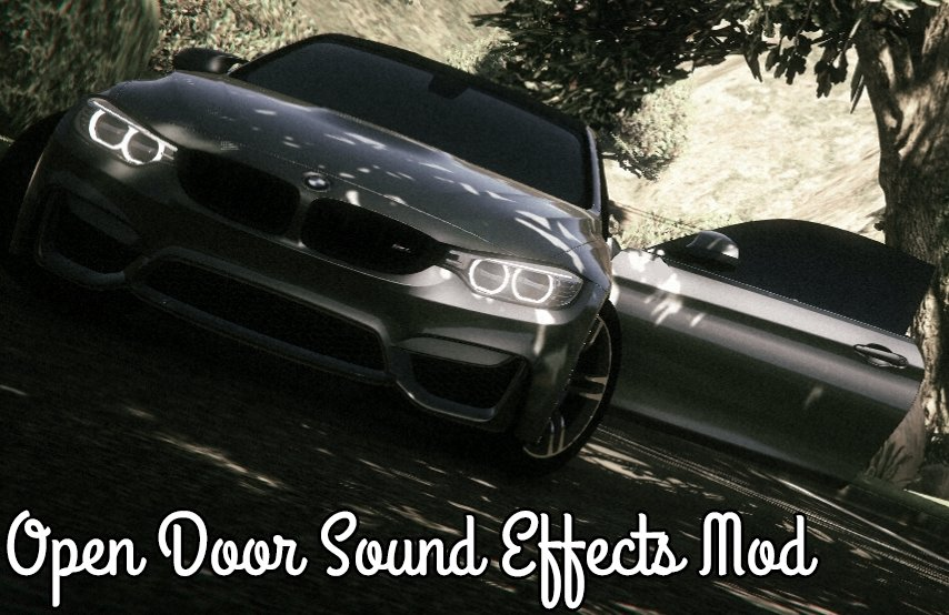 Open Door Sound Effects - GTA5