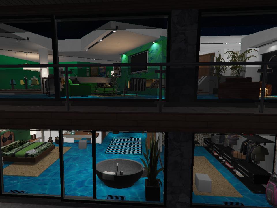 New interior for Franklin's house - GTA5