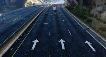New Road Texture (Highways + Other Areas)