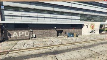 LAPD - Mission Row Police Station - GTA5