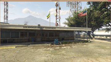 LAPD - Sandy Shores Police Station - GTA5