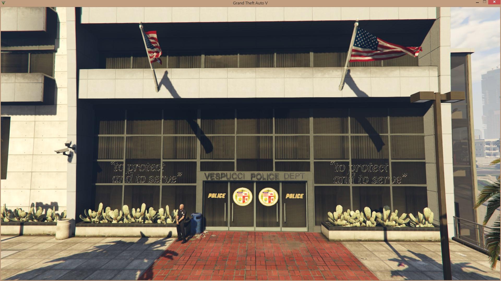 LAPD - Vespucci Police Station - Divers pour GTA V sur GTA Modding