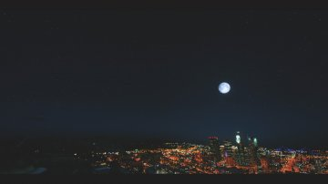 4K Moon + 4K Starfield - GTA5