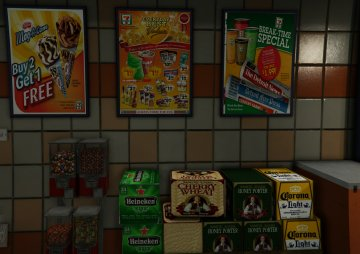 Real-Life Food and Beverages - GTA5