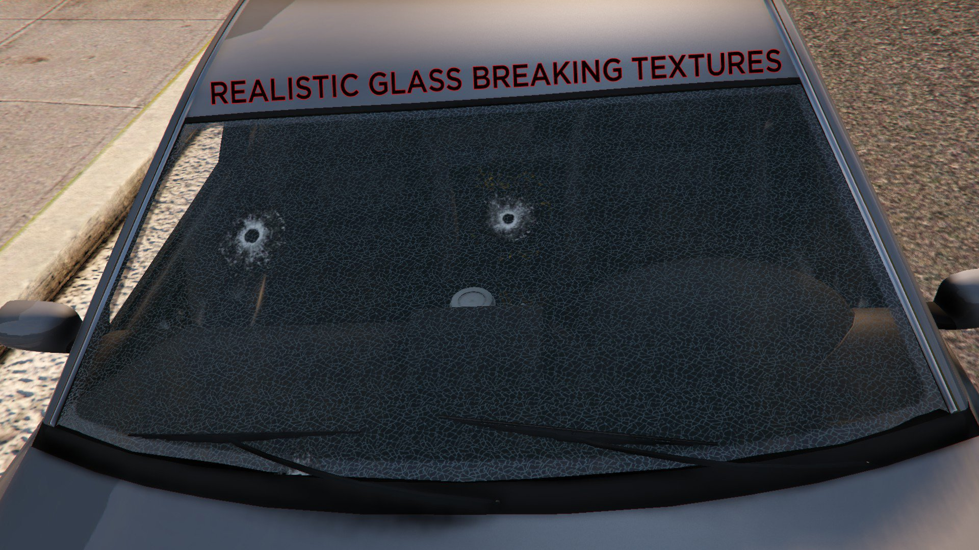 Realistic Bullet Holes and Glass - GTA5
