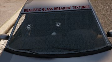 Realistic Bullet Holes and Glass