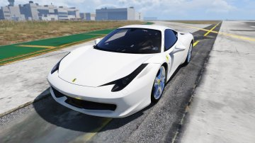 Ferrari 458 Real Sound - GTA5