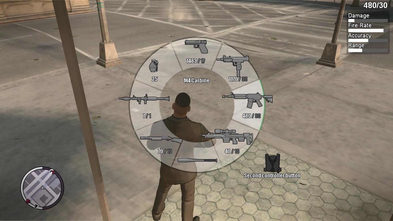 GTA 5 Weapon HUD - GTA4
