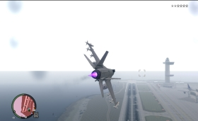 GTA V Fighter Jet P-996 - GTA4
