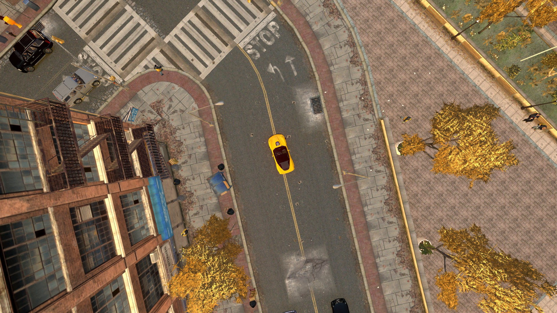 Top Down View - GTA4