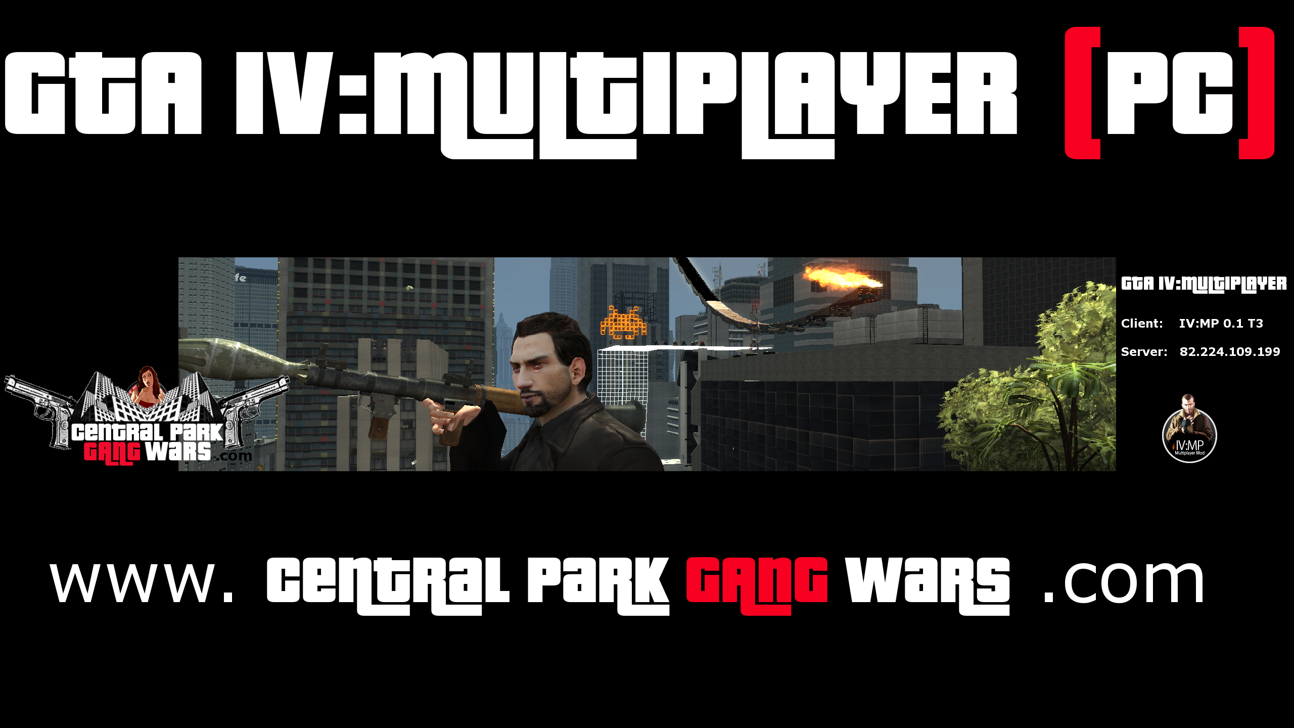 gta iv multiplayer - central park gang wars