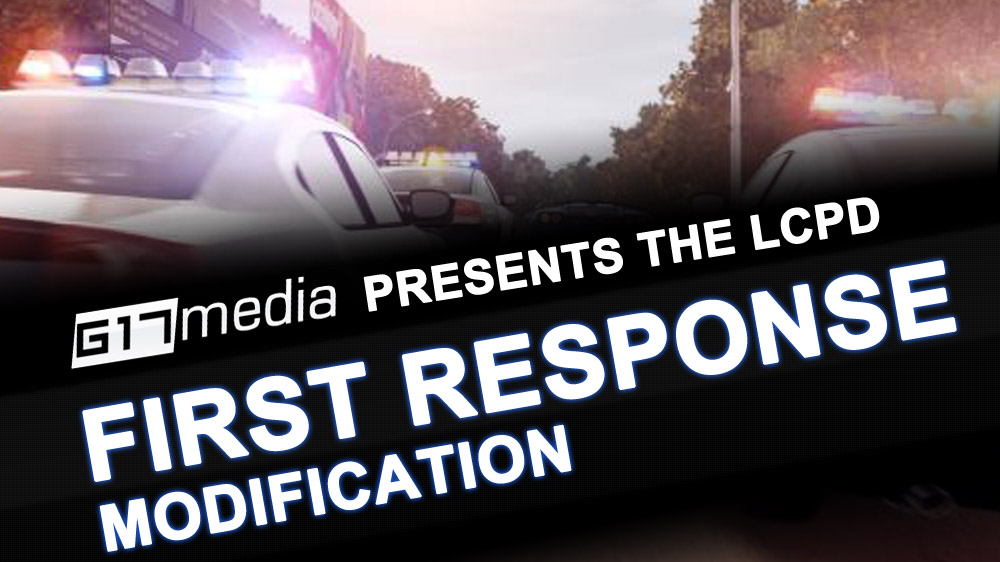 LCPD First Response 1.1 - GTA4