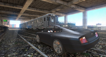 Abandoned Railway - GTA4