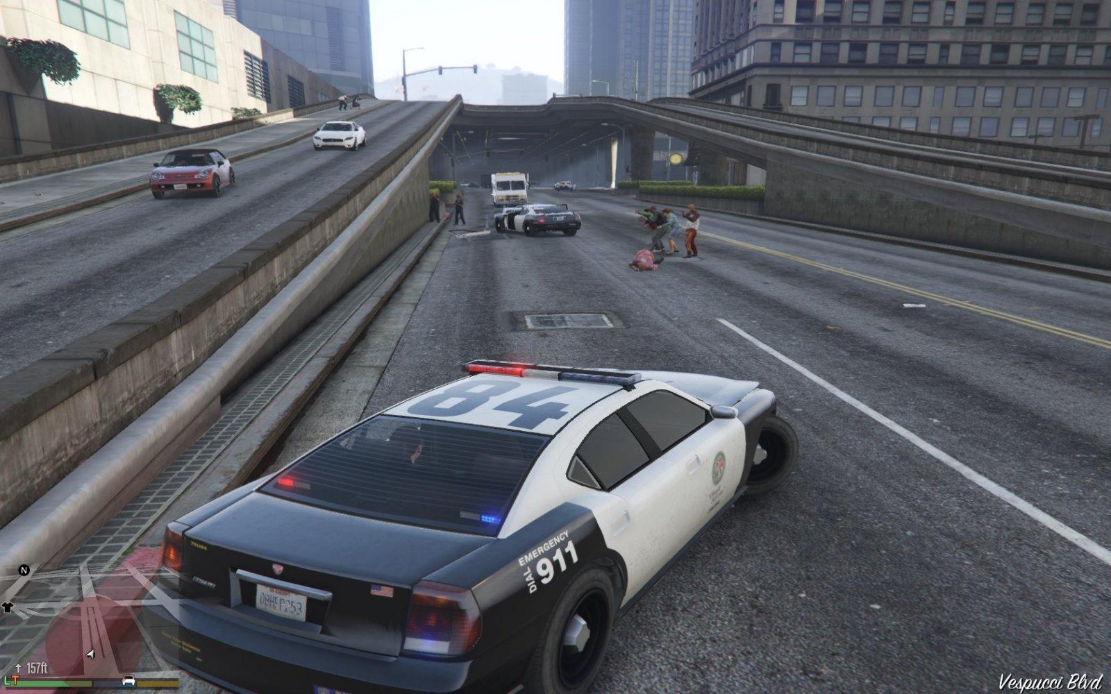 Police Mod 1 0b - Mods pour GTA V sur GTA Modding