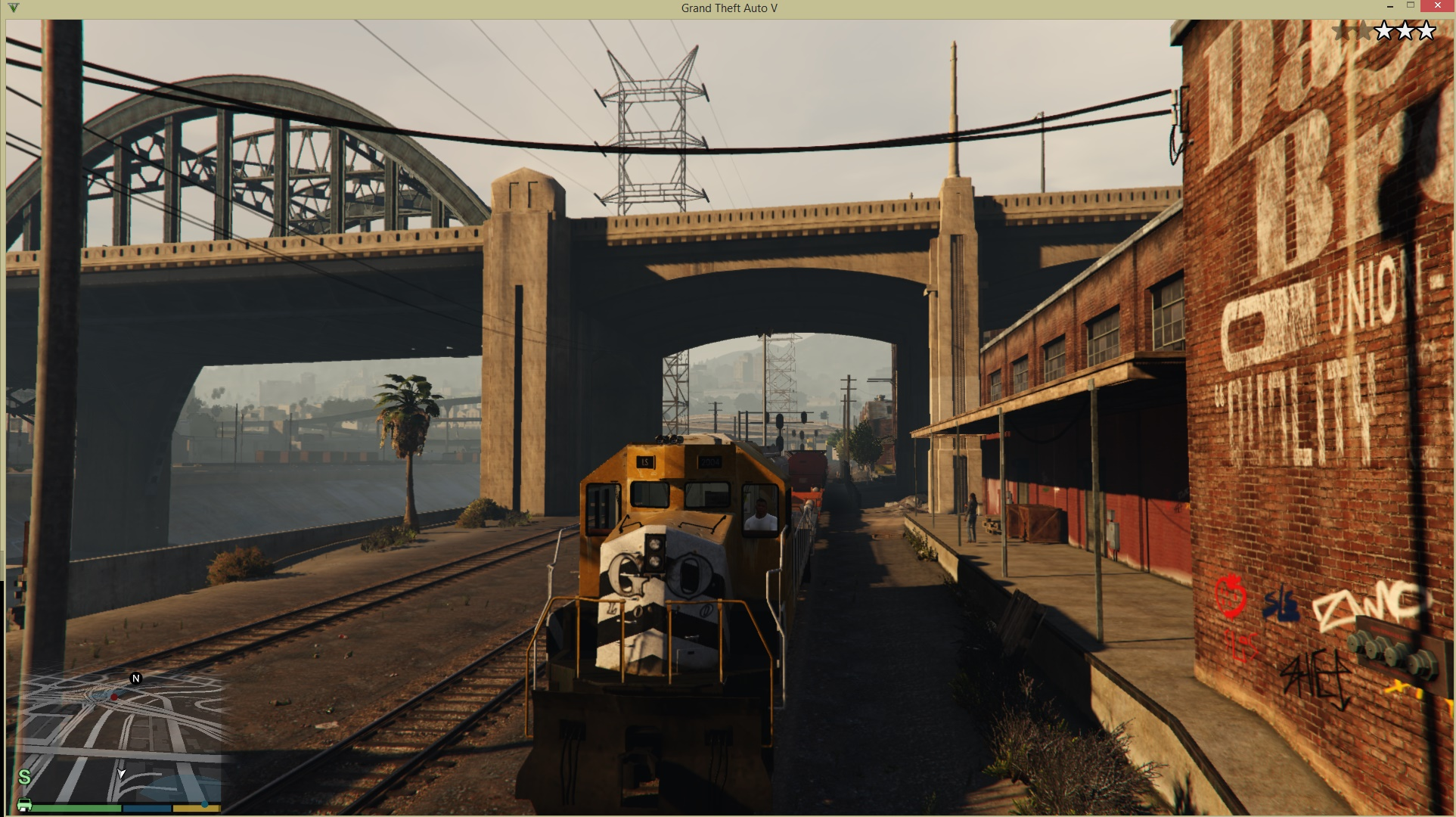 Train Driver Mod - GTA5