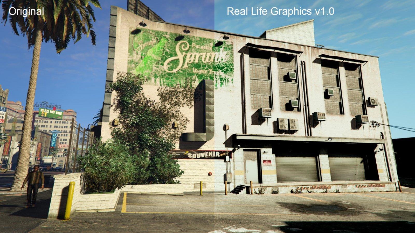Real Life Graphics - Mods pour GTA V sur GTA Modding
