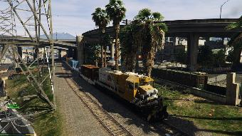 Realistic Train Mod - GTA5