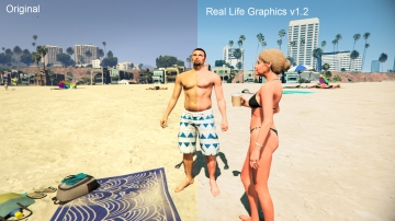 Real Life Graphics - GTA5