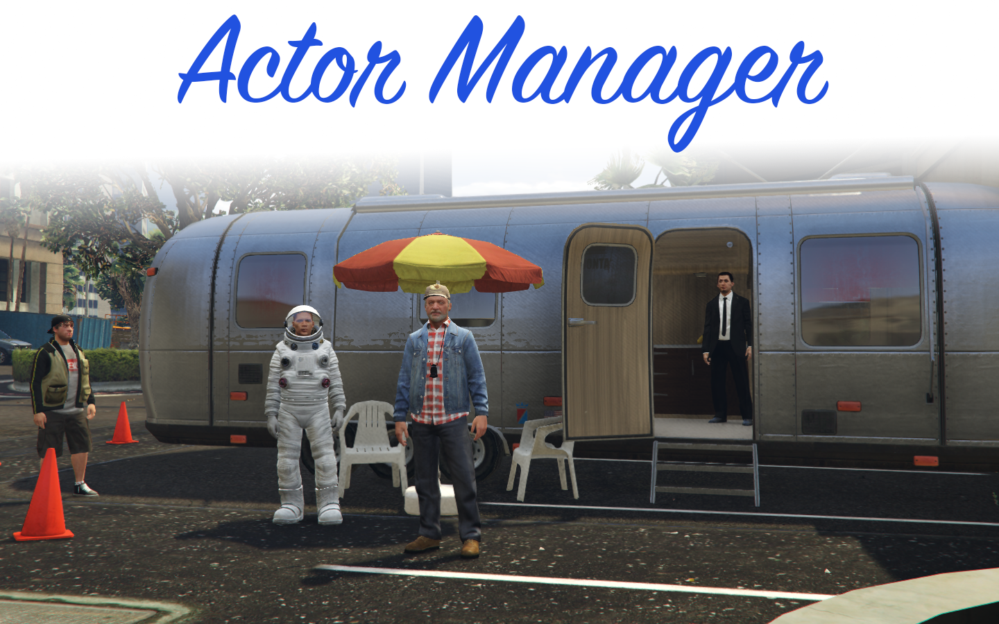 Actor Manager 0.6 - GTA5